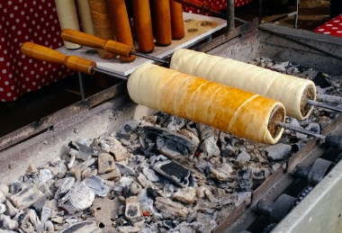 Preparare Colac Secuiesc - Kürtőskalács